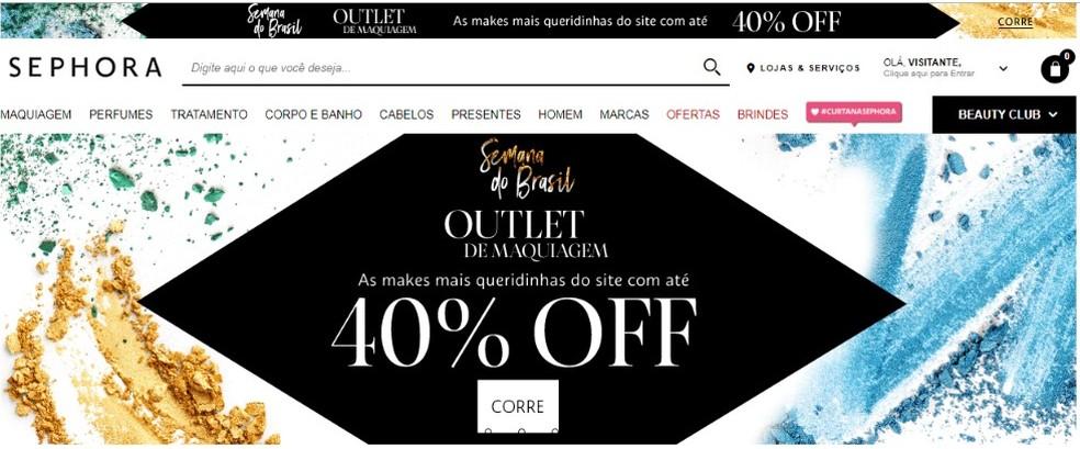 Semana do Brasil inclui lojas de diferentes segmentos — Foto: Reprodução/Beatriz Cardoso
