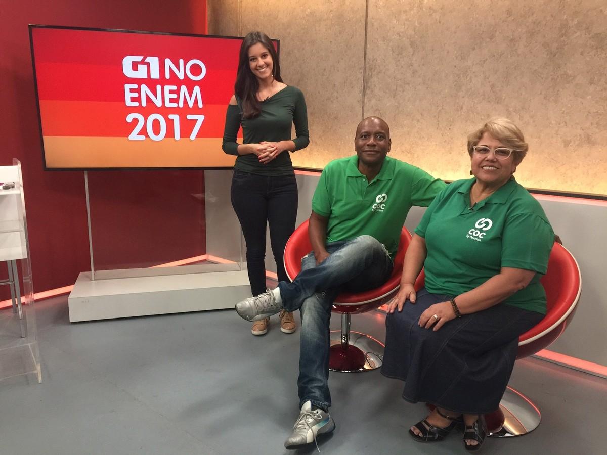 G1 vai resolver as dez questões mais polêmicas do Enem 2017 em programa ao vivo