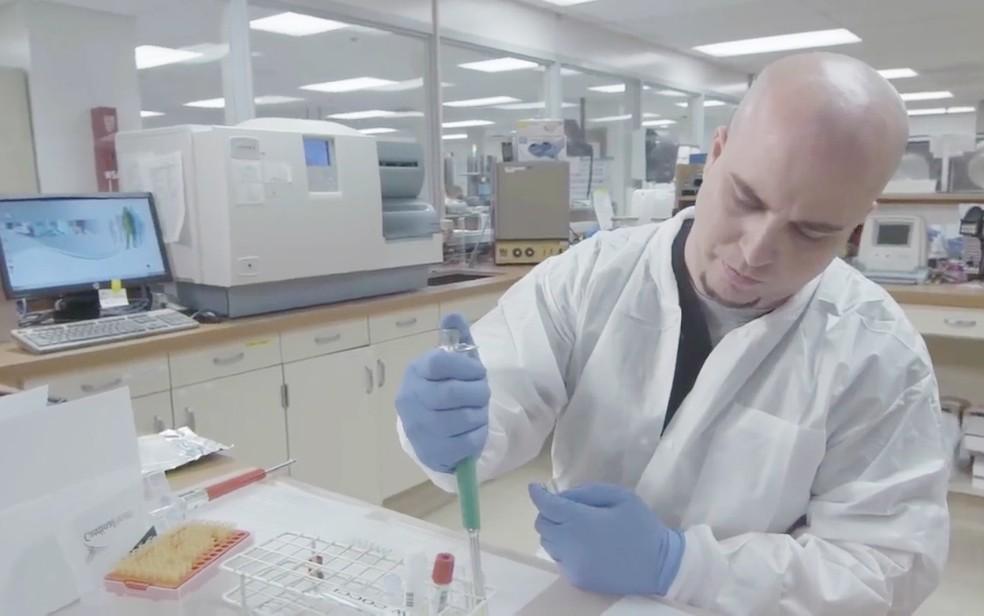 Pesquisa aponta que cães podem 'farejar' o câncer em amostras de sangue e saliva — Foto: BioScentDX/Divulgação