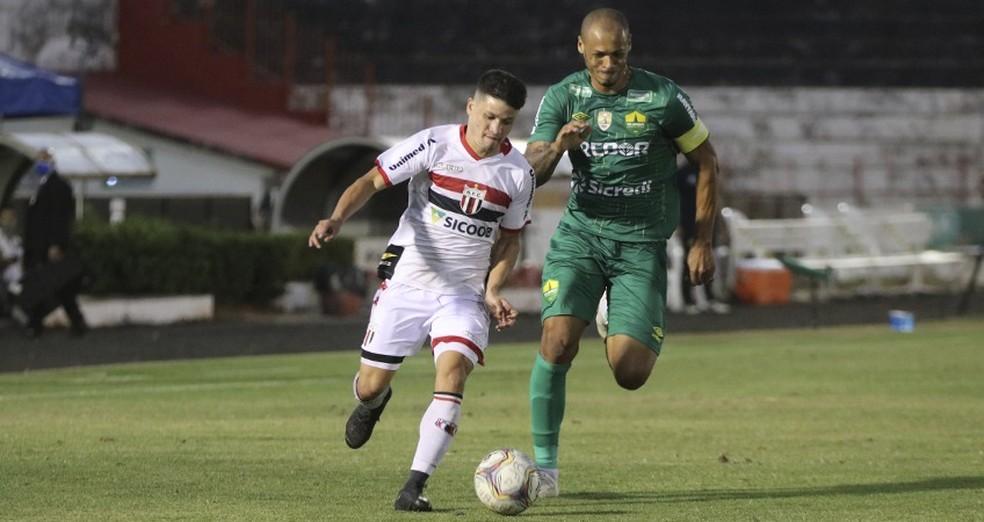 Ronald, atacante do Botafogo-SP  — Foto: Divulgação/Agencia Botafogo