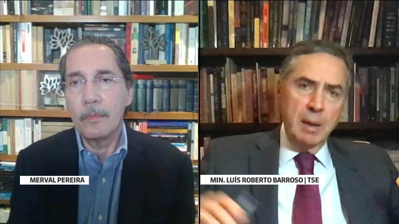 Ministro Luís Roberto Barroso: 'Nós não somos inimigos nem apoiadores do presidente'