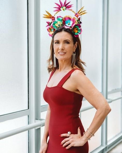 Fátima Bernardes (Foto: Isabella Pinheiro/Gshow)