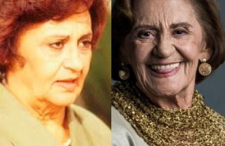 Longe da TV desde 'A dona do pedaço' (2019), Laura Cardoso viveu Guiomar, mulher que se torna vítima do espírito de Alexandre e passa a ter uma relação de ódio com o genro, Raul TV Globo