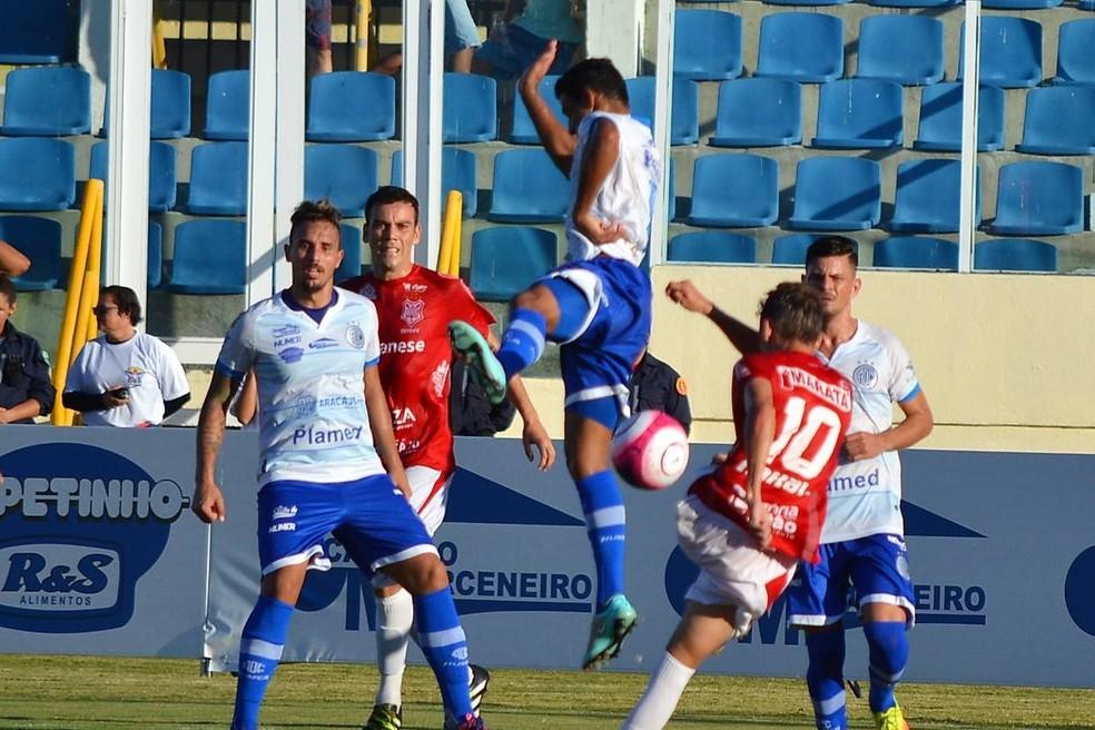 Sergipe tem melhor ataque do hexagonal (Foto: José Maria Marques)