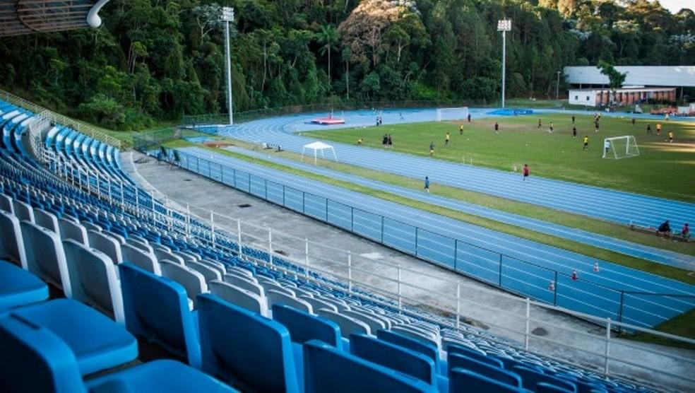 Campo da Faefid será palco da estreia em casa do JF Imperadores (Foto: Caique Cahon/UFJF)