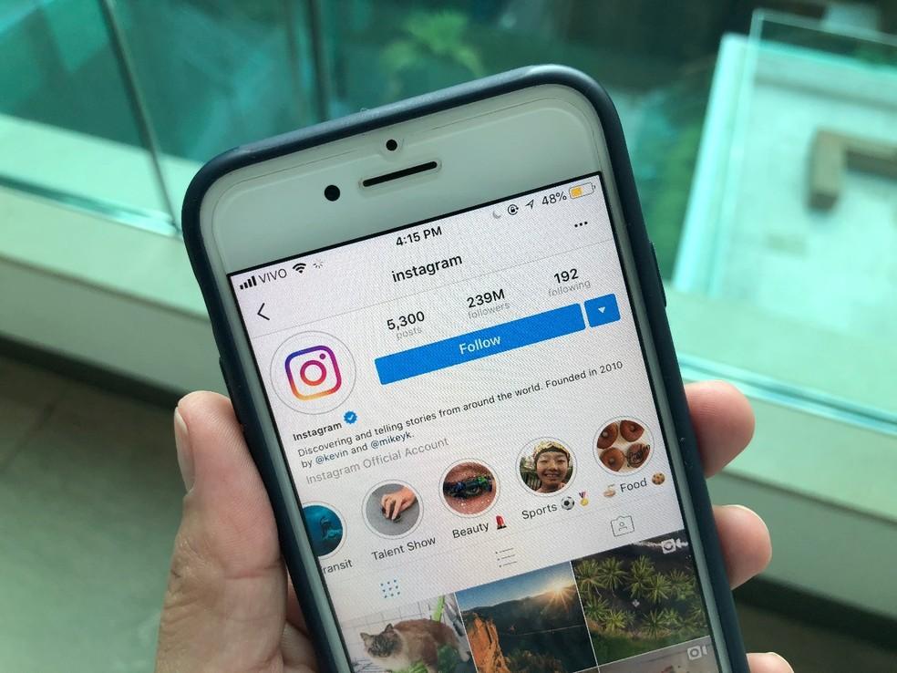Com o golpe do Money Flip, você pode receber pedidos de investimentos pelo Instagram (Foto: Nicolly Vimercate/TechTudo)
