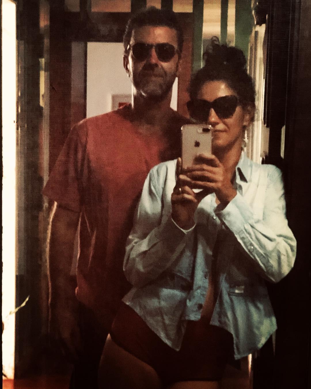 Antonia Pellegrino e Marcelo Freixo (Foto: Reprodução / Instagram)