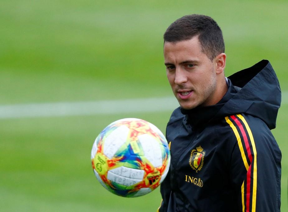 Com segundo maior salário do Real, Eden Hazard rejeita comparações com Lionel Messi