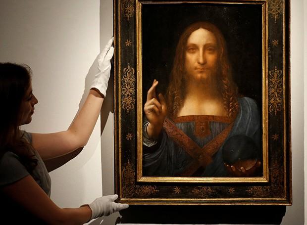 Após o leilão, o museu de arte de Abu Dhabi anunciou que havia adquirido a obra. Porém, a apresentação que mostraria o quadro foi cancelada sem explicações. (Foto: Reprodução/Sputinik)
