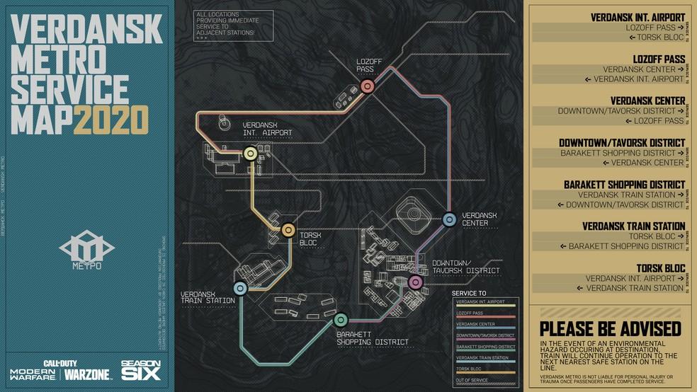 Call of Duty Warzone: Tips For Metro in Verdansk