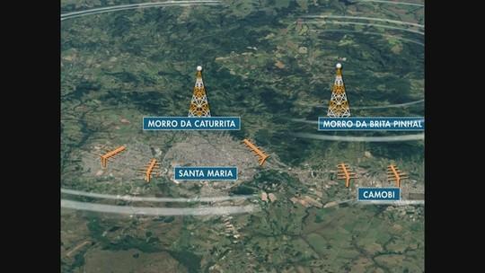Desligamento do sinal analógico vai até 17 de dezembro em nove cidades da Região Central do Rio Grande do Sul