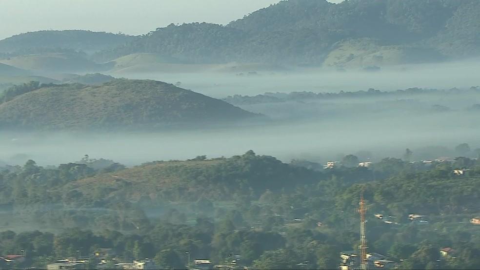 Rio tem novo recorde de mínima do inverno: 11ºC em Jacarepaguá, na Zona Oeste do Rio — Foto: Reprodução/ TV Globo