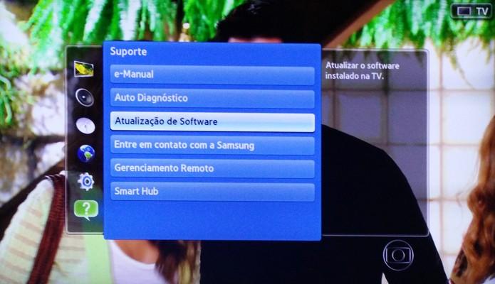 atualização do firmware netflix samsung un46es6500