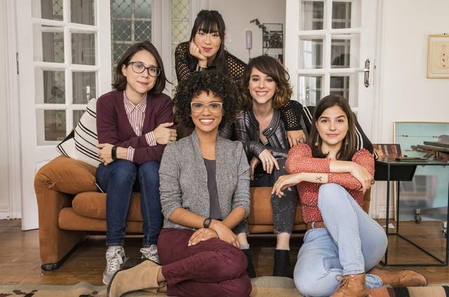 As protagonistas de 'As Five' (Foto: Victor Pollak/Globo)