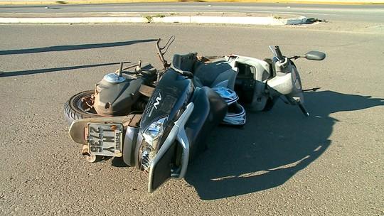Mulher morre em acidente envolvendo carro e moto em Erechim