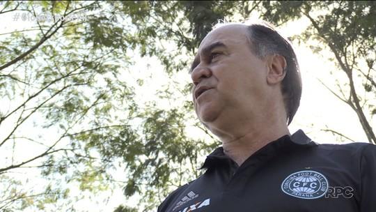 Marcelo Oliveira vê no Atletiba chance de reação do Coritiba no Brasileiro