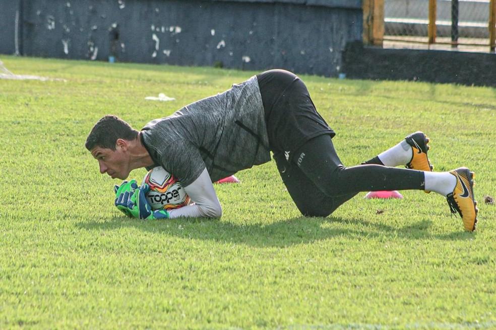 Goleiro vai conciliar mandato com rotina no Leão — Foto: Samara Miranda/Remo