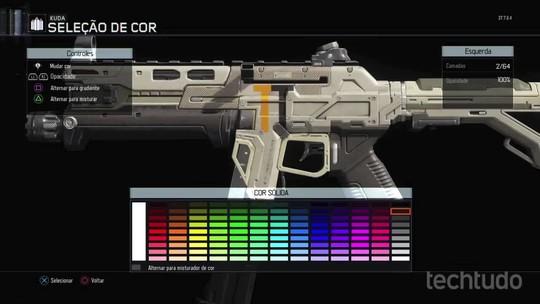 Como criar pinturas para suas armas em Call of Duty: Black Ops 3
