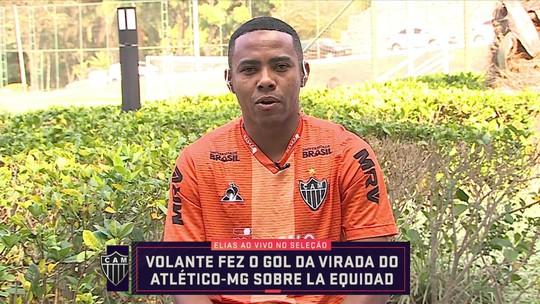 """Elias participa do Seleção SporTV e diz: """"Temos que valorizar a vitória"""""""
