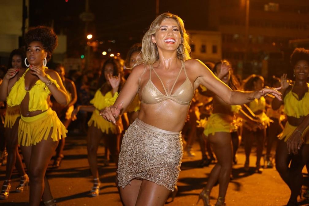 A paulista Lívia Andrade vai desfilar no Rio pela Paraíso do Tuiuti — Foto: Ewerton Pereira/ Divulgação