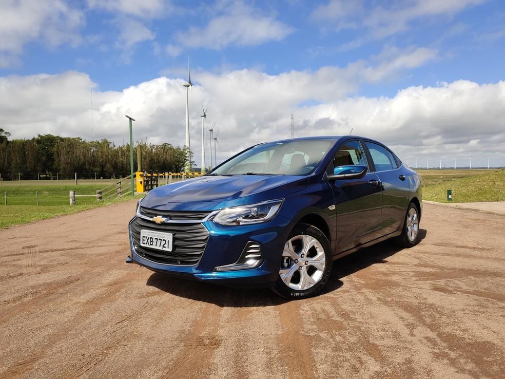 Chevrolet Onix Plus Premier — Foto: Guilherme Fontana/G1