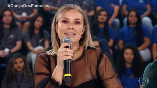 Paolla Oliveira elogia apresentação de Nando Rodrigues, mas pede: 'Rebola mais'