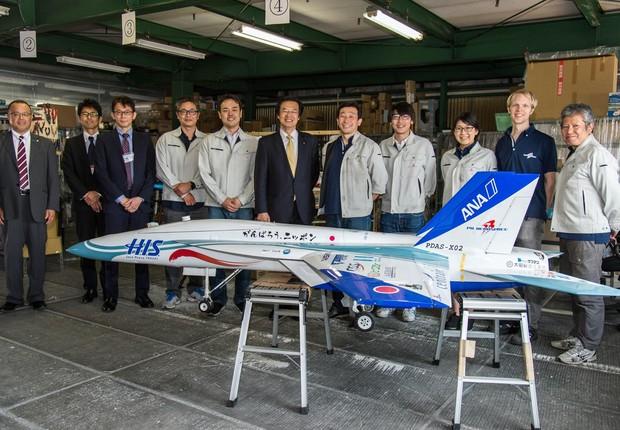 A PD Aerospace obteve financiamento de 520 milhões de ienes de cinco companhias (Foto: Reprodução/Facebook)