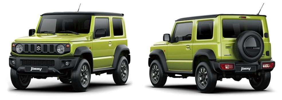 Nova geração do Suzuki Jimny — Foto: Suzuki/Divulgação