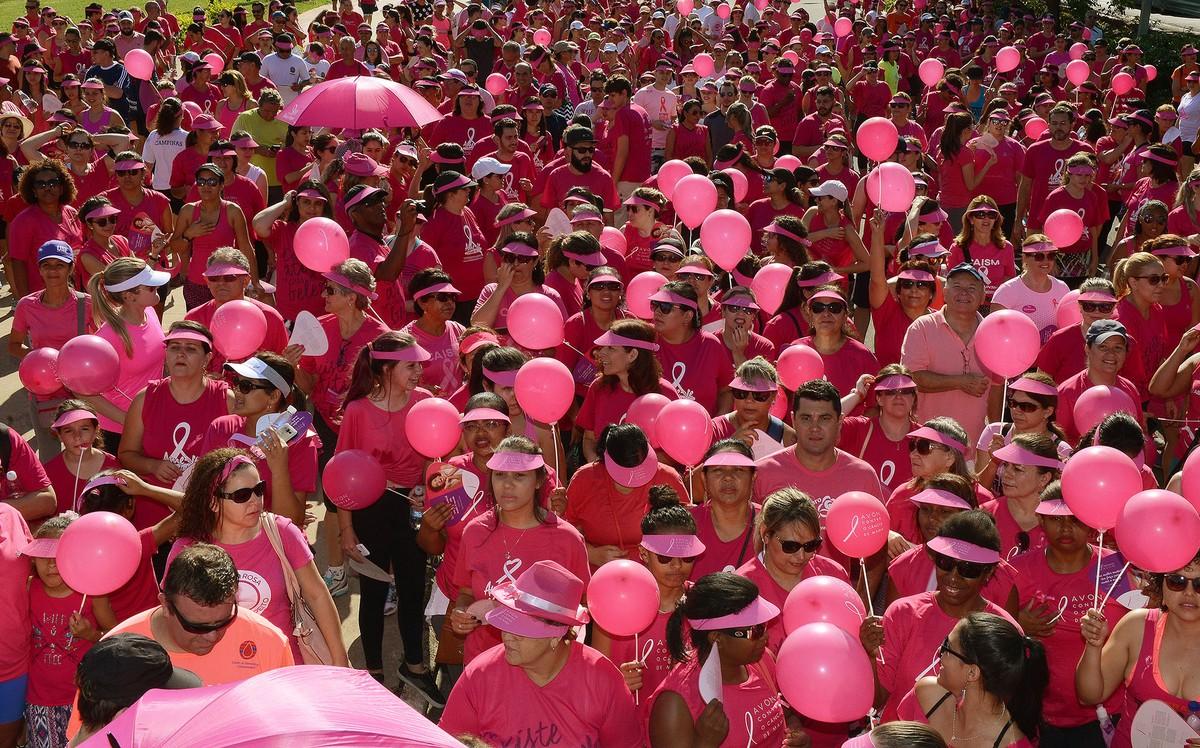 Campinas promove caminhada em apoio ao Outubro Rosa