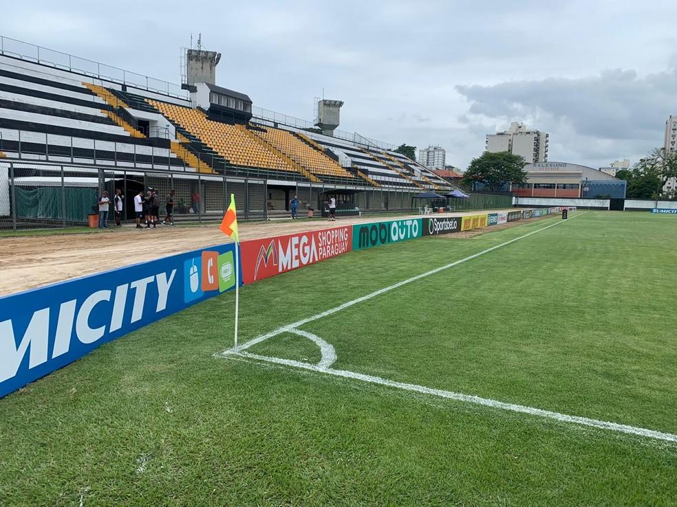 Estádio do Trabalhador — Foto: Vinicius Lima