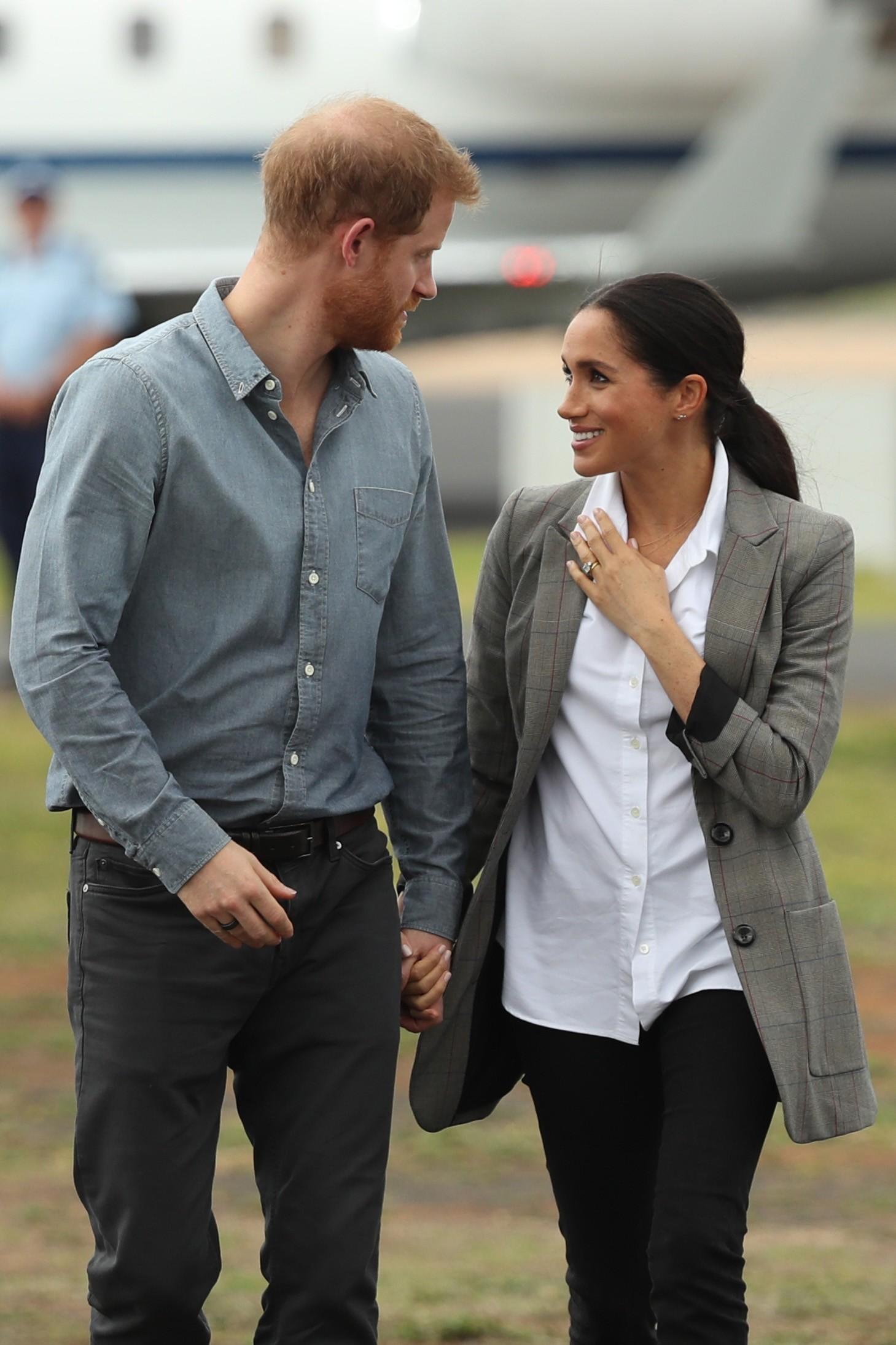 Príncipe Harry e Meghan Markle estão na Austrália (Foto: Getty Images)