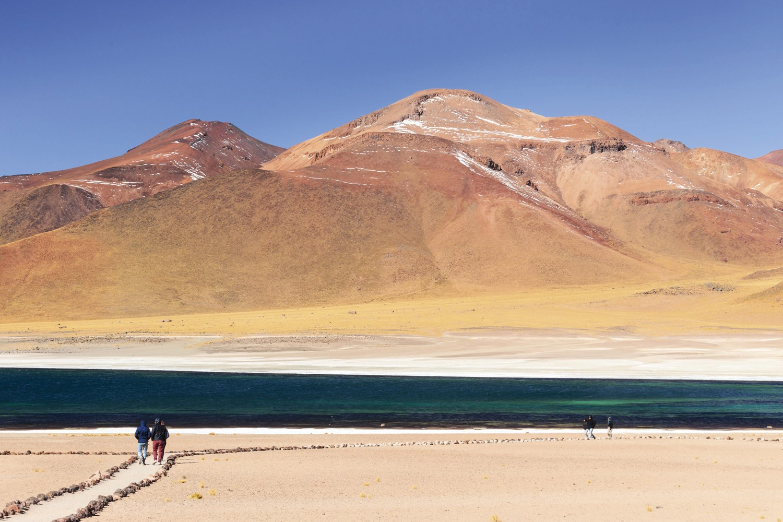 As Lagunas Altiplanas em San Pedro de Atacama (Foto: Divulgação)