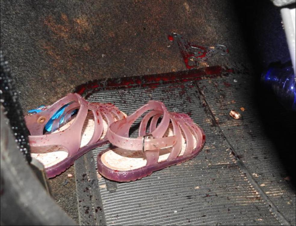 Pai e filha de 2 anos, assassinados a tiros em fevereiro deste ano, foram algumas das vítimas da organização criminosa alvo da Operação Luger em Mato Grosso — Foto: Polícia Civil de Mato Grosso/Assessoria