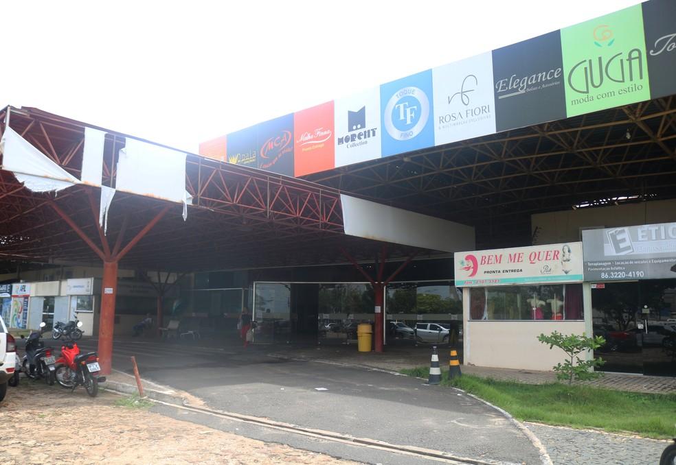 Piauí Center Modas.  — Foto: Maria Romero/G1