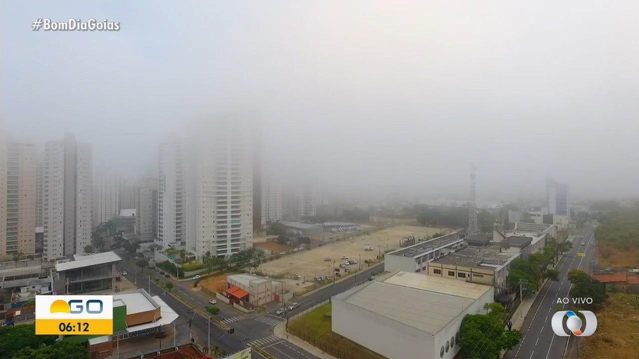 Saiba qual a previsão do tempo para esta quarta-feira (21) em Goiás