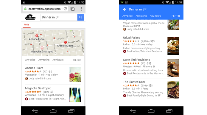 Buscas do Google começam a adotar Material Design no celular (Foto: Reprodução/Android Police)
