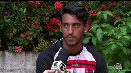 """Goleiro do Fla-PI sonha ser chefe de cozinha e revela hobbie: """"Assistir programas culinários"""""""