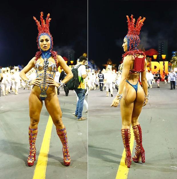 Sabrina Sato (Foto: Eduardo Saraiva/ Ed. Globo)