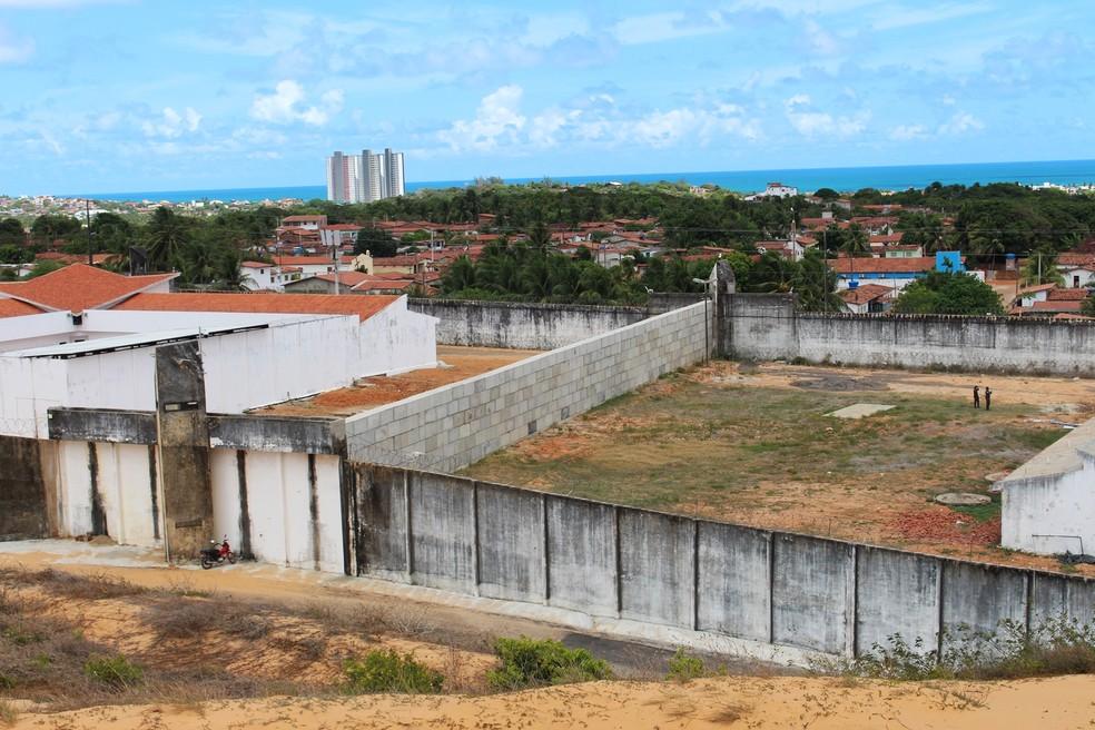 Penitenciária Estadual de Alcaçuz (Foto: Anderson Barbosa/G1)
