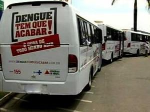 Força tarefa de combate a dengue chega a Nova Serrana, MG (Foto: Reprodução / TV Integração)