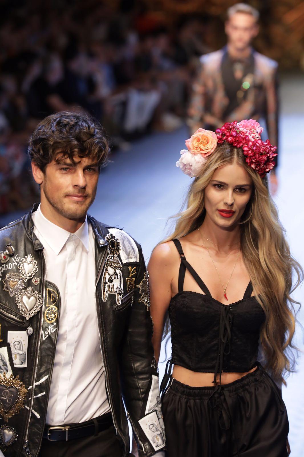 Evandro e Yasmin (Foto: Gerson Lírio/Fashion To Max)