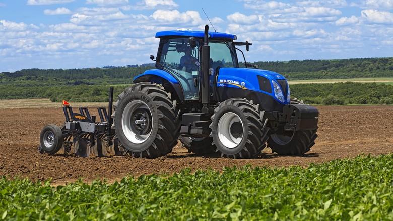 agricultura_maquina_tratort7_newholland (Foto: Divulgação/New Holland)