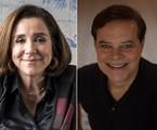 Marisa Orth e Diogo Vilela estrearão no 'Zorra' | Divulgção/Globo e Alexandre Cassiano