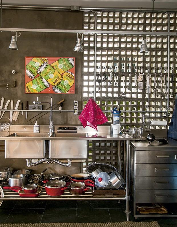 Lifestyle decor - A parede de elementos vazados (Foto: Rogério Voltan)