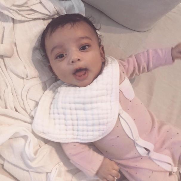 Filha de Kim Kardashian (Foto: Instagram/Reprodução)