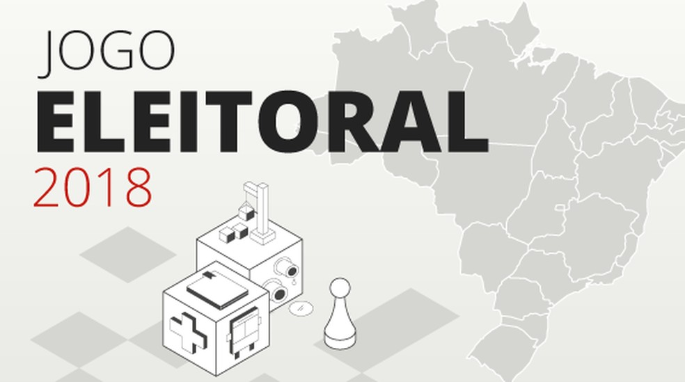 Selo jogo eleitoral — Foto: Arte/G1