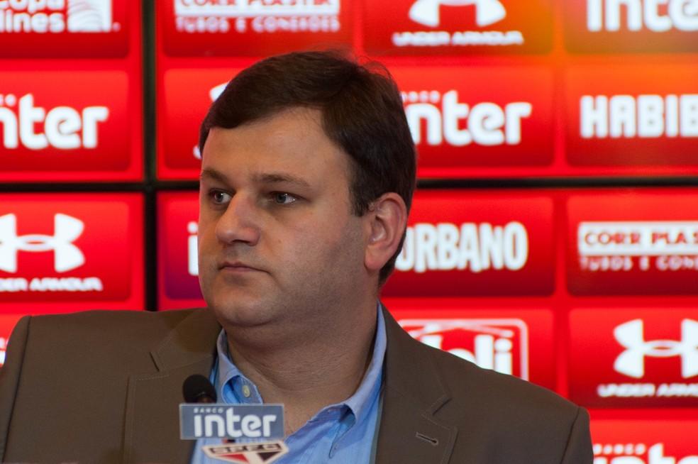 Vinicius Pinotti pediu demissão do São Paulo (Foto: Maurício Rummens / Estadão Conteúdo)