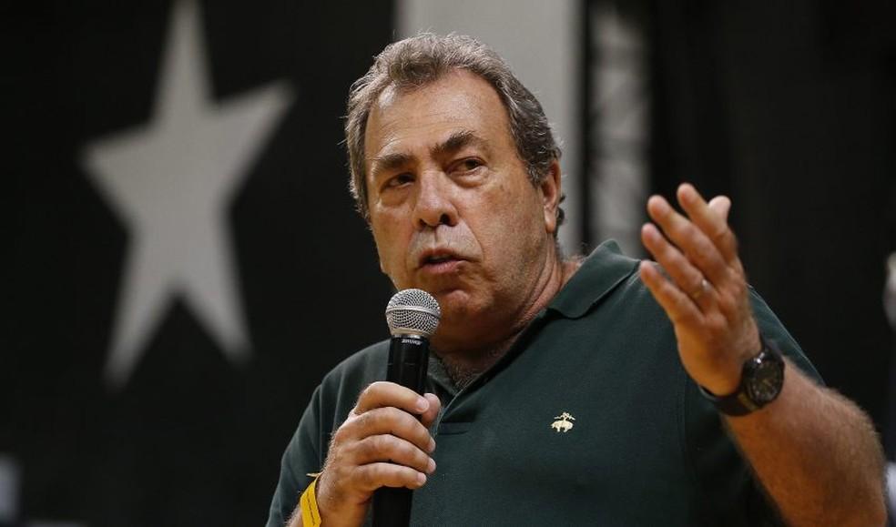 Carlos Augusto Montenegro, ex-presidente do Botafogo — Foto: Vitor Silva/Botafogo