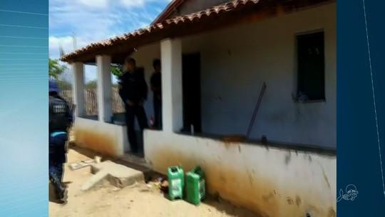 Polícia acha casa usada por quadrilha que matou três PMs em Quixadá
