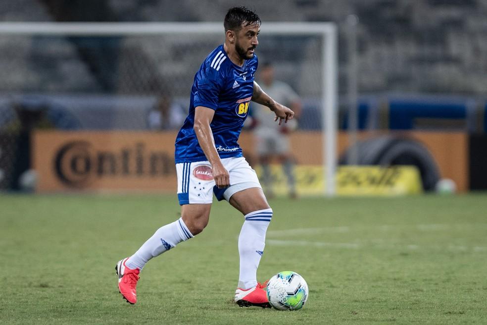 Robinho tem a compreensão de jogo como trunfo para brilhar no Grêmio — Foto: Gustavo Aleixo/Cruzeiro